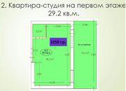 квартира-студия пересечение ул. Российской и Ростовского шоссе